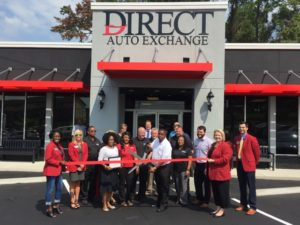 Ribbon Cutting Direct Auto Exchange Greater Tallahassee Chamber