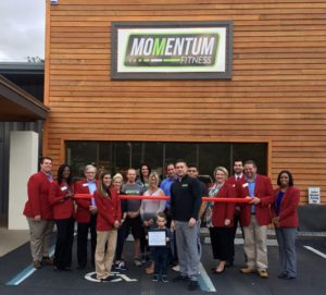 Ribbon Cutting Momentum Fitness Greater Tallahassee Chamber Of Commerce