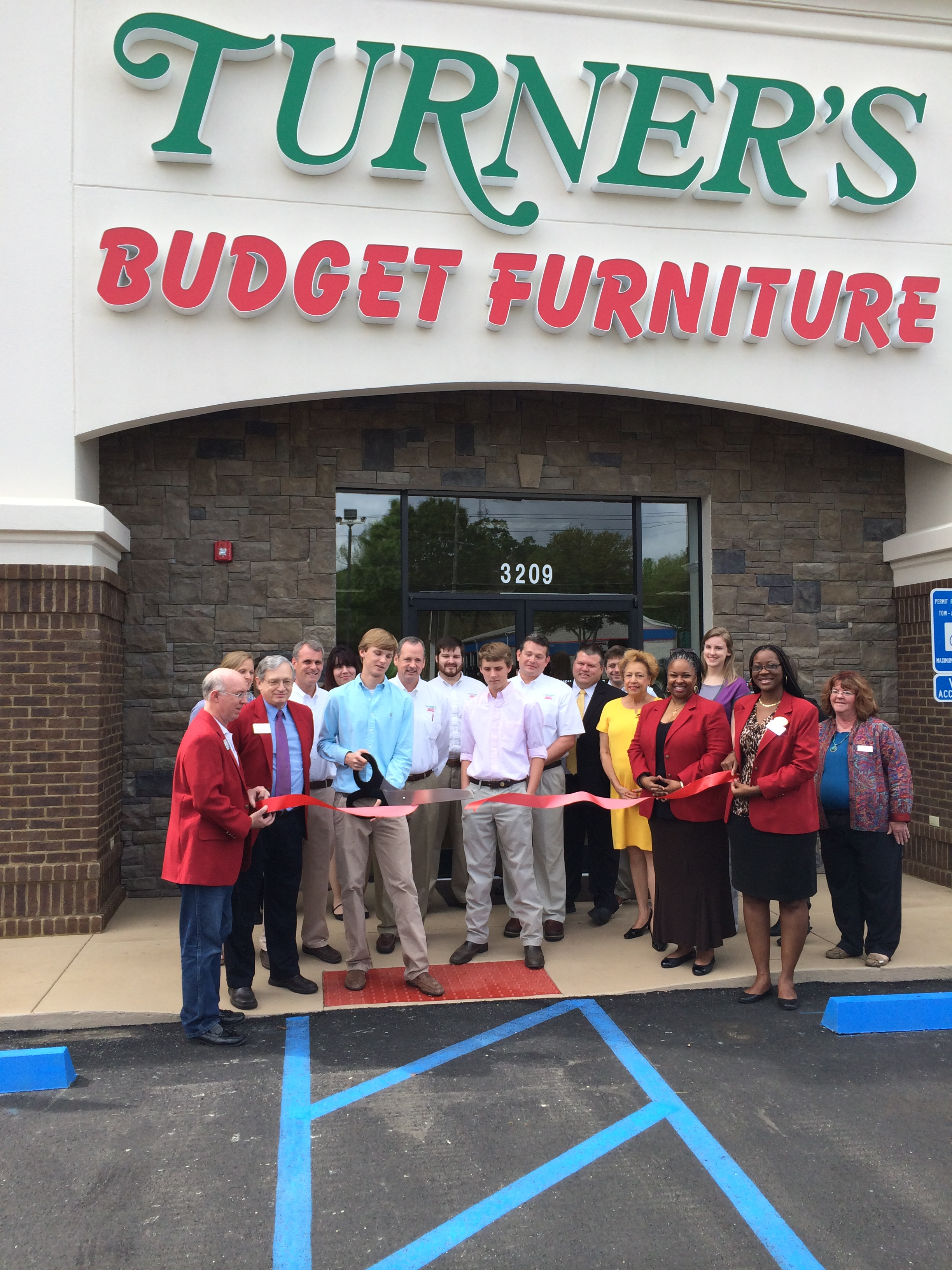 Ribbon Cutting Turner 39 S Budget Furniture Greater Tallahassee .